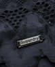 Superdry Broderie Blouse Navy