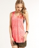 Superdry Destroyed Slouch Tank Pink