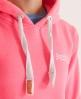 Superdry Orange Label Hoodie Pink