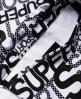 Superdry極度乾燥 Sport 抽繩袋 黑色