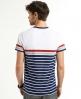 Superdry Drift Stripe T-shirt Navy