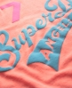 Superdry Neon Lights T-shirt Pink