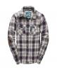 Superdry Western Lumberjack Shirt Purple