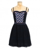 Superdry 50s Eastern Lace Dress Navy