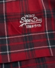Superdry 50s Prom Plaid Dress Red