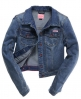 Superdry Classic Denim Jacket Blue