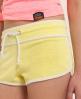 Superdry Ventura Velvet Hotpants Yellow