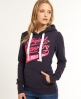 Superdry Number 1 Co. Hoodie Navy