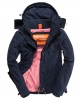 Superdry Hooded Polar Windcheater Navy