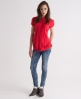 Superdry Swiss Pierrot Blouse Red
