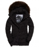 Superdry Glacier Parka Jacket Black