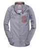 Superdry Laundered Shirt Navy