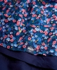 Superdry 50s Tropical Print Dress Blue