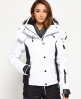 Superdry Snow Puffer Jacket White