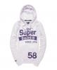 Superdry Saints Hoodie White