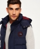 Superdry Gilet Everest  Navy
