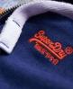 Superdry Orange Label Zip Hoodie Blue