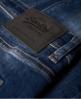 Superdry Spray-on-Röhrenhose Blau
