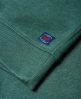 Superdry The Industry Over Dyed Crew Jumper Green