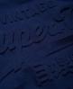 Superdry Premium Goods T-Shirt mit Prägung Marineblau