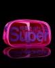 Superdry Neon Bag Pink