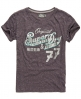 Superdry Original 77 T-Shirt Purple