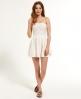 Superdry 50s Dovecote Dress White