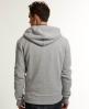Superdry Orange Label Zip Hoodie Grey