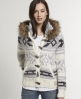 Superdry Doolittle Toggle Hoodie Cream