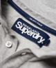 Superdry City Tipped Field Polo Shirt Light Grey