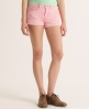 Superdry Tomboy Cord Shorts Pink