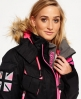 Superdry Ultimate Snow Service Jacket  Black