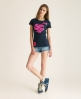 Superdry Stacker T-shirt Navy