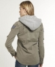 Superdry Delta Hooded Box Shirt Grey