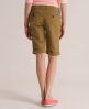 Superdry Tomboy Chino Shorts Brown