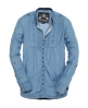 Superdry Pierrot Denim Shirt Blue