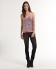 Superdry Glitter Ball Cami Top Silver