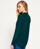 Superdry Premium Satin Boyfriend Shirt  Turquoise
