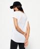 Superdry T-shirt Slinky Sport Essential  Blanc