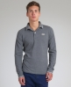 Superdry Preppy Longsleeve Polo Dark Grey