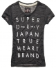 Superdry No.6 Type T-shirt Dark Grey
