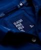 Superdry Vintage Destroyed Pique Polo Shirt Blue
