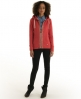 Superdry Luxe Sorority Zip Hoodie Red