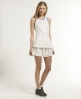 Superdry Brushed Odessa Dress White
