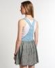 Superdry Vintage Dungaree Dress Blue