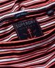 Superdry Breton Bardot Stripe Dress Red