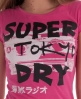 Superdry Noise Punk T-shirt Pink