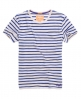 Superdry Striped Pocket T-shirt Blue