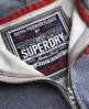 Superdry Core Applique Hoodie Blue