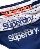 Superdry Super Standard Slips im 3er-Pack Blau
